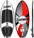 Doomswell Wakesurf Mongrel- Red