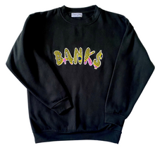 Load image into Gallery viewer, Banks- Unisex African Print Sweatshirt