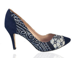 Adele- African Print Shoes