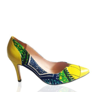 Camille- African Print Shoes