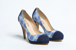 Marie- African Inspired High Heels