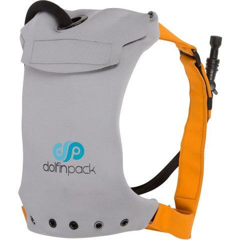 DolfinPack Lightweight Hydration Pack Slate Grey / Burnt Orange