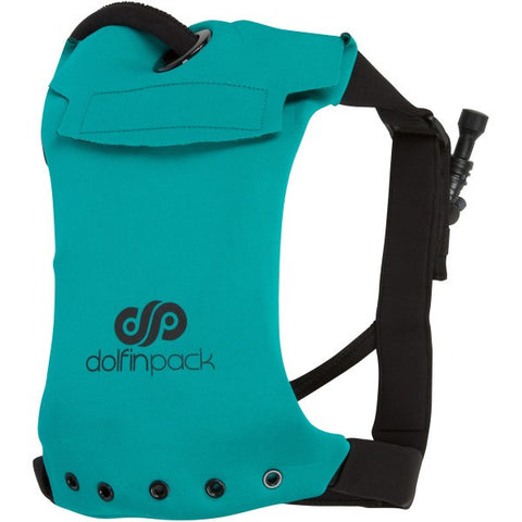 DolfinPack Lightweight Hydration Pack Teal / Black