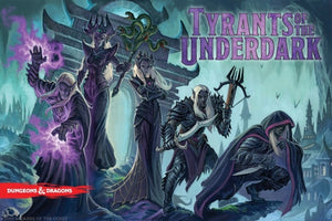 Tyants Of The Underdark, New 'D&D' Board Game..Coming * 2016 *