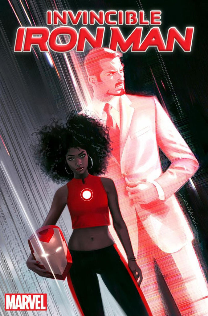 Invincible Iron Man !!!   Marvel Reveals Black Woman to Assume 'Iron Man' Role !!!!