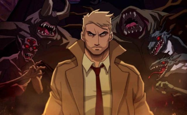 New Poster for the Constantine Animated Series on CW Seed .