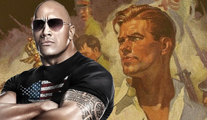 Dwayne 'The Rock' Johnson as the  Future 'Doc Savage...Movie coming soon.....