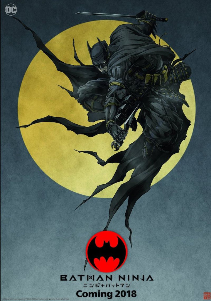 First Look At The Batman Ninja Anime .... WOW !!!