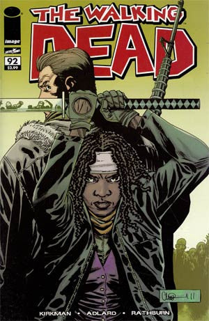The Walking Dead  # 92 1st Ptg *  VF-NM * 1st Appearance Of *  Paul Jesus Monroe *