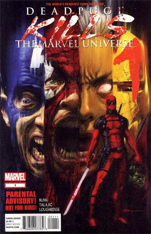 Deadpool Kills Marvel Universe # 1  1st PTG  NM  In Stock !!!!!