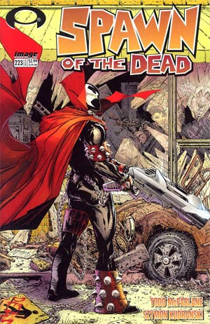 Spawn #223  Cover B Todd McFarlane Walking Dead Homage Cover *NM*  Movie Coming Soon !!!!!