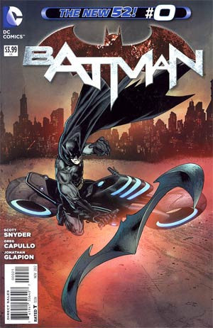 Batman  Vol 2 # 0 Variant Andy Clarke Cover,  1st Print  VF-NM !!