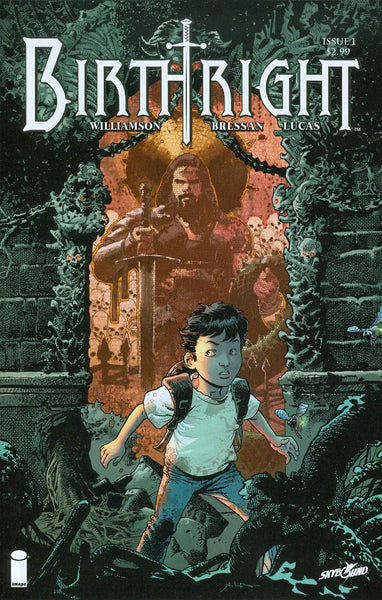 Birthright #1 Cover A 1st Ptg Regular Andrei Bressan Cover. Movie Optioned...