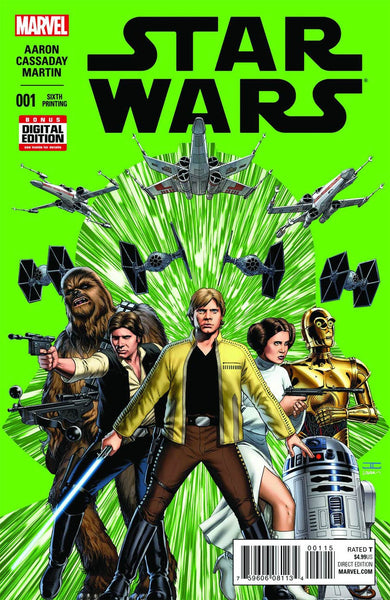 Star Wars  # 1 6th Print Error Cover NM !!!!.