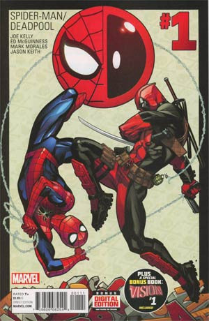 Spider-Man Deadpool #1 Cover A Regular Ed McGuinness  CVR  In Stock * 2016 * !!!
