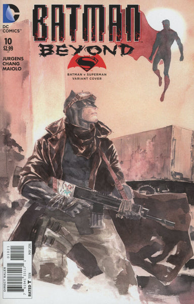 Batman Beyond Vol 5 #10 Cover B Variant Dustin Nguyen Batman v Superman Dawn Of Justice Cover   *NM*