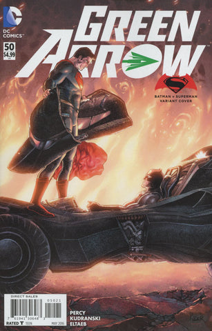 Green Arrow  #50  Variant Aaron Kuder Batman v Superman Dawn Of Justice Cover  *NM*