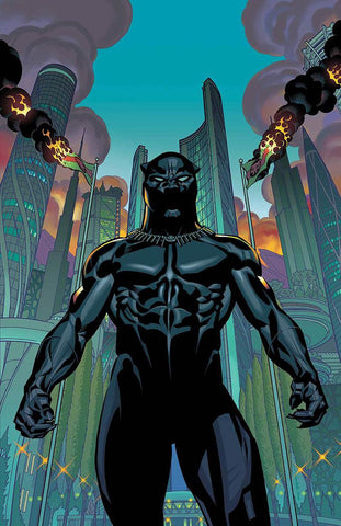 Black Panther Vol 6 #1 CVR A  Brian Stelfreeze NM, Marvel Civil War!!! NM