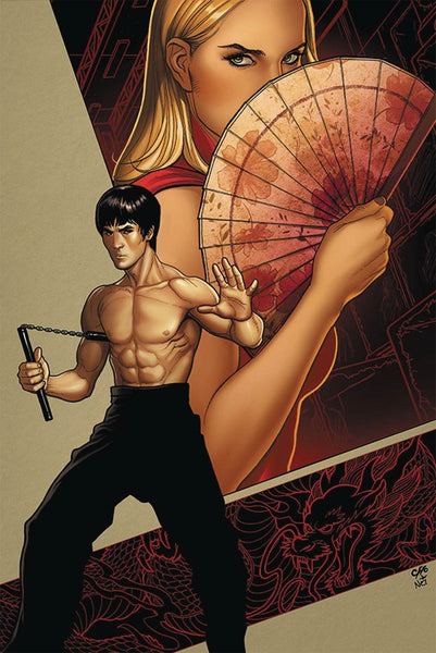 Bruce Lee Dragon Rises #1 Cover B Frank Cho !!!