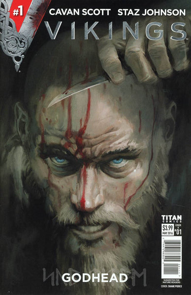 Viking # 1 Shane Pierce Cover *NM*First Print...... Sold Out !!!!