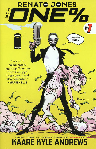 Renato Jones One Percent #1  Sold  Out !!! * NM*  In Stock !!!!