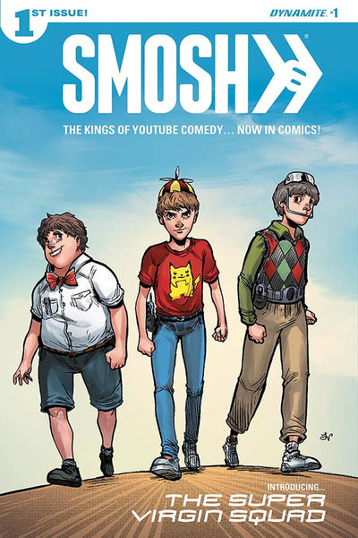 Smosh #1 Cover A Regular Franco Viglino Cover * NM *