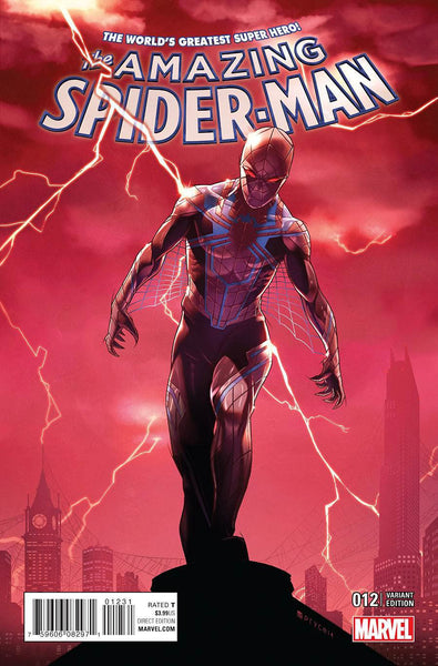 Amazing Spider-Man Vol 4 #12 Cover B Variant Jamal Campbell  NM  First Print  !!!!