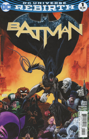 Batman Vol 3 #1 Cover B Tim Variant Cover !!!!   *NM*