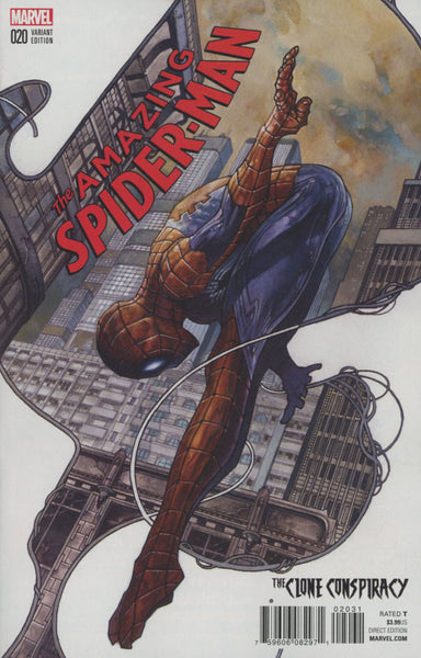 Amazing Spider-Man Vol 4 #20 Cover B Incentive Variant Cover (Clone Conspiracy Tie-In)  *NM *
