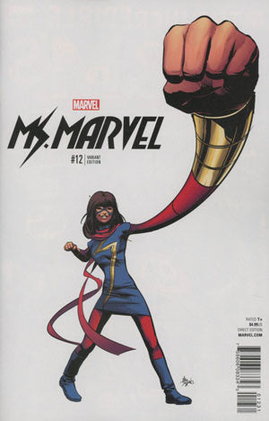 Ms Marvel Vol 4 #12 Cover C Incentive Mike Deodato Jr Teaser Variant Cover (Marvel Now Tie-In)  *NM *