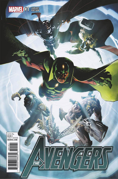 Avengers Vol 6 #1 Cover G Incentive Adam Kubert Variant Cover (Marvel Now Tie-In)  Pre-Order Coming Nov-02-16   *NM *
