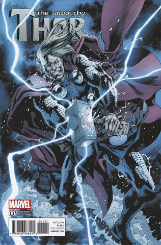 Unworthy Thor #1 Cover F Incentive Bryan Hitch Variant Cover (Marvel Now Tie-In)  Pre-Order Coming Nov-02-16   *NM *