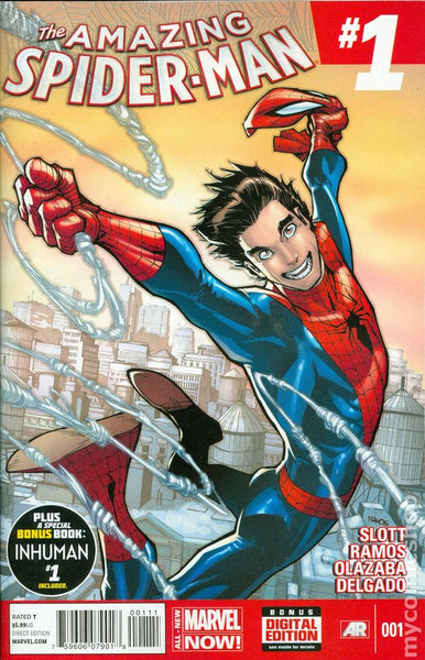 Marvel Comics (2015) Amazing Spider-man # 1  Regular Cover   * NM *