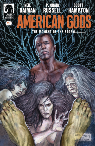 Neil Gaiman American Gods Moment of the Storm #1 CVR A Fabry MR Dark Horse Comics...Pre-Order Coming April-17-2019  *NM*