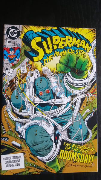 Superman: Man Of Steel #18  First Appearance  VF+   Movie !!!!