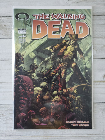 THE WALKING DEAD #1: 15TH Anniversary Blind Unbagged Finch Variant *NM* !!!!