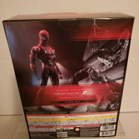 Square Enix Marvel Universe Spider-Man Limited Symbiote Edition Play Arts Kai- Action Figures NIB. .