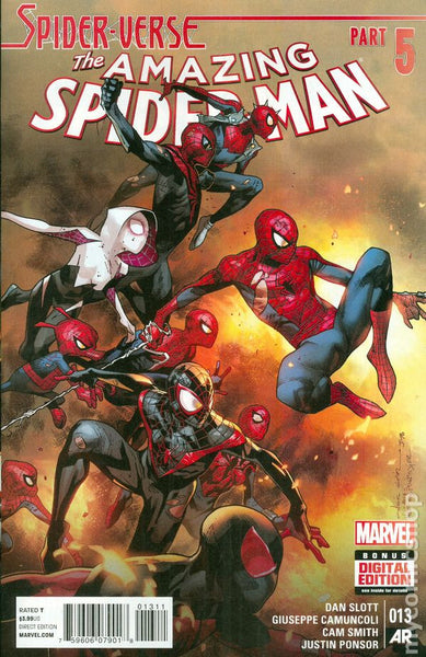 Marvel Comics (2015) Amazing Spider-man # 13  Regular Cover NM