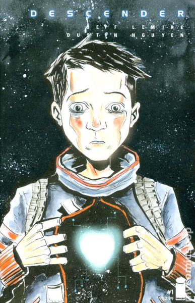 Image Comics (2015) Descender # 1 Cover B  NM First Print, Movie Coming Soon