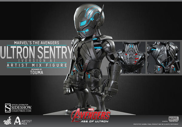 Ultron Sentry (Version A) – Artist Mix   Ultron Collectibles Figure By Hot Toys : Avenger Age Of Ultron Series (1 ) Coming Soon   August-2015