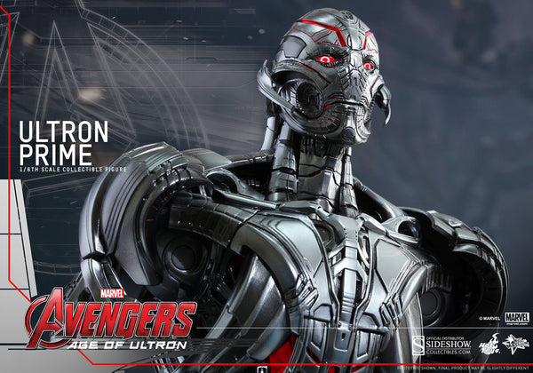 Ultron Prime /  Ultron Sixth Scale Figure By Hot Toys / Avenger Age Of Ultron  Movie Masterpiece Series !!!