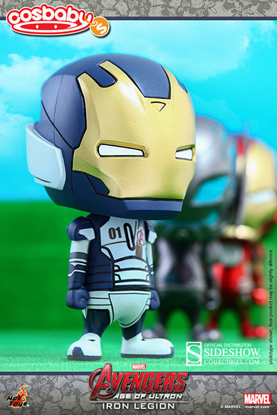 Iron Legion / Iron Man Vinyl Collectible By Hot Toys / Avengers Age Of Ultron Cosbaby Series ( 1 ) !!!! Coming In  August 2015