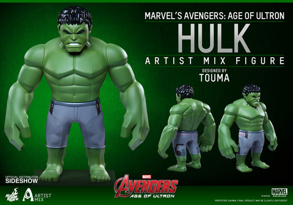 Hulk Collectibles Figure By Hot Toys// Avenger Age Of Ultron Series 1 * Pre Order Coming In Nov 2015*