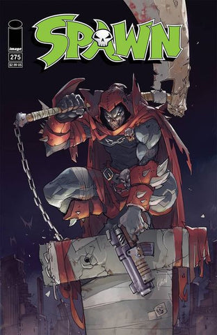 Spawn #275 ( 25th Anniversary Cover A - Hibachi)  Pre-Order 06-28-17
