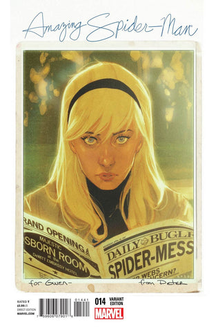 Amazing Spider-Man # 14 Cover B Variant Noto Cover NM,,