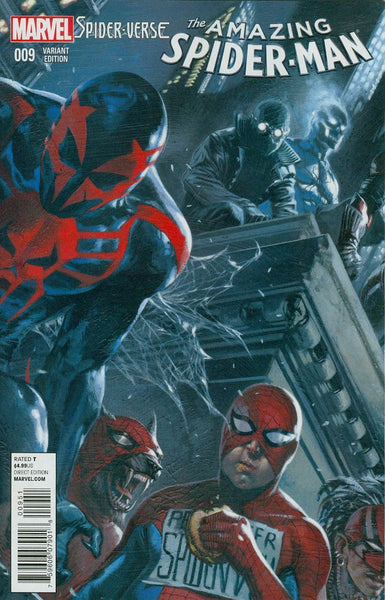 Amazing Spider-Man Vol 3 #9  Incentive Gabriele Dell Otto Variant Cover (Spider-Verse Tie-In)
