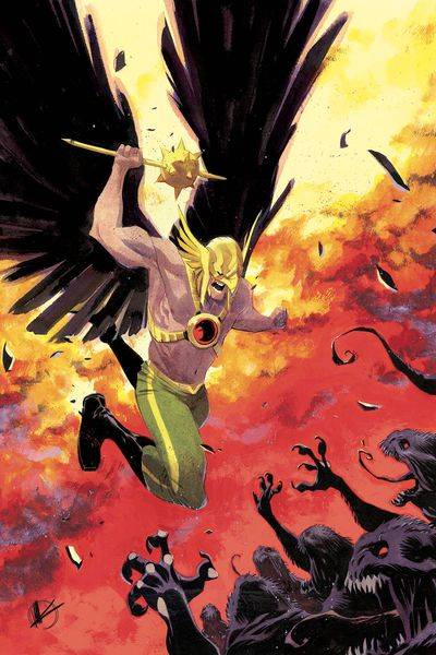 Hawkman #5 Foil Cover * NM* !!!!  Out Of Stock !!!