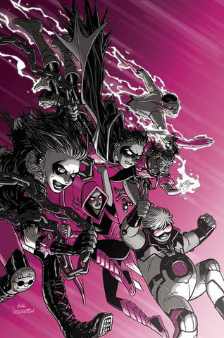 Teen Titans # 23 Foil * NM* !!!!  P/O Coming Oct-17-18 ...