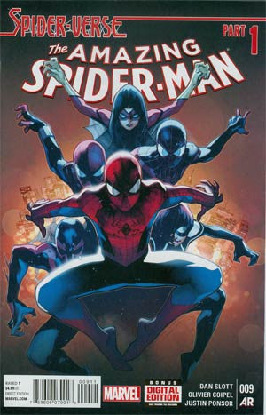 Amazing Spider-Man Vol 3 # 9 Cover A Regular Olivier Coipel Cover (Spider-Verse Tie-In)