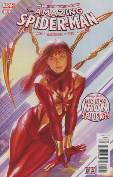 Amazing Spider-Man Vol 4 #15 Cover A Alex Ross  * NM* !!!!